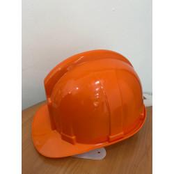 Elmetto arancio in polietilene