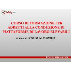 Slides Docente Corso di...