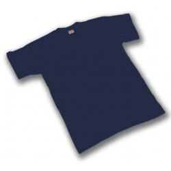 Maglietta Cotone Blu Gr 130...