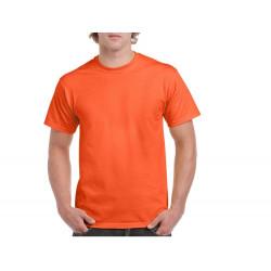 Maglietta Cotone Arancio...